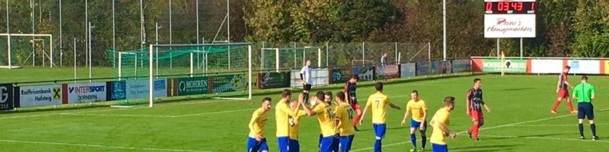 Derbysieg in Schwarzach