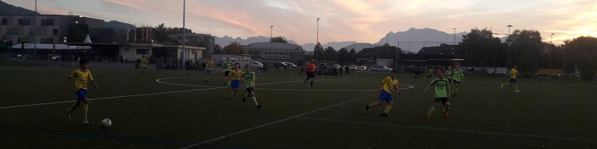 U16 gegen Hohenems
