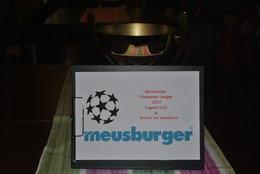 U12: Meusburger CL Auslosung
